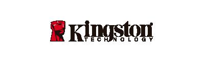 logo de la marca KINGSTON